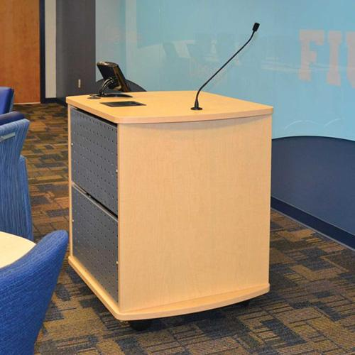 Curved Top Lectern