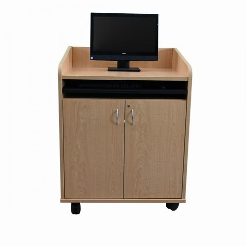 Privacy Side Standing Height Lectern