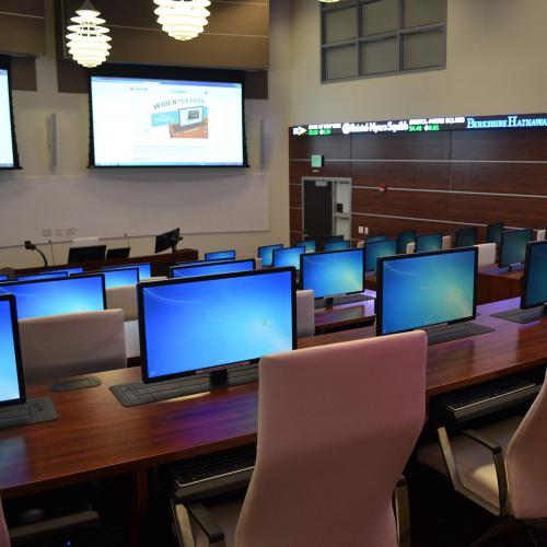 Florida Atlantic University computer desks