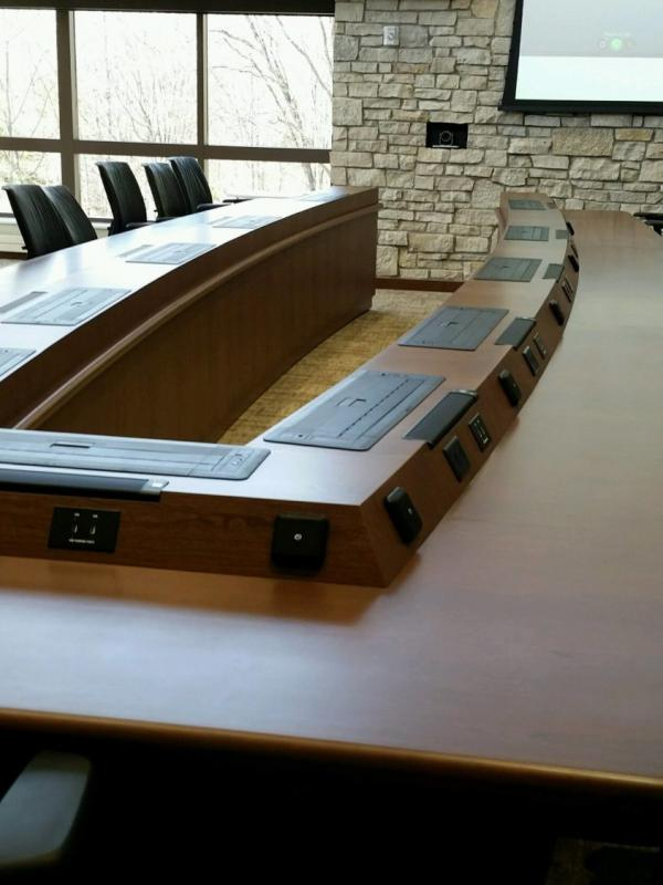 University of Michigan Health System Computer Conference Table