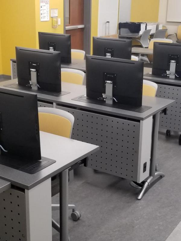 Mission College Computer Desks