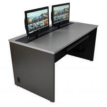 Dual Trolley™ Computer Training Desk