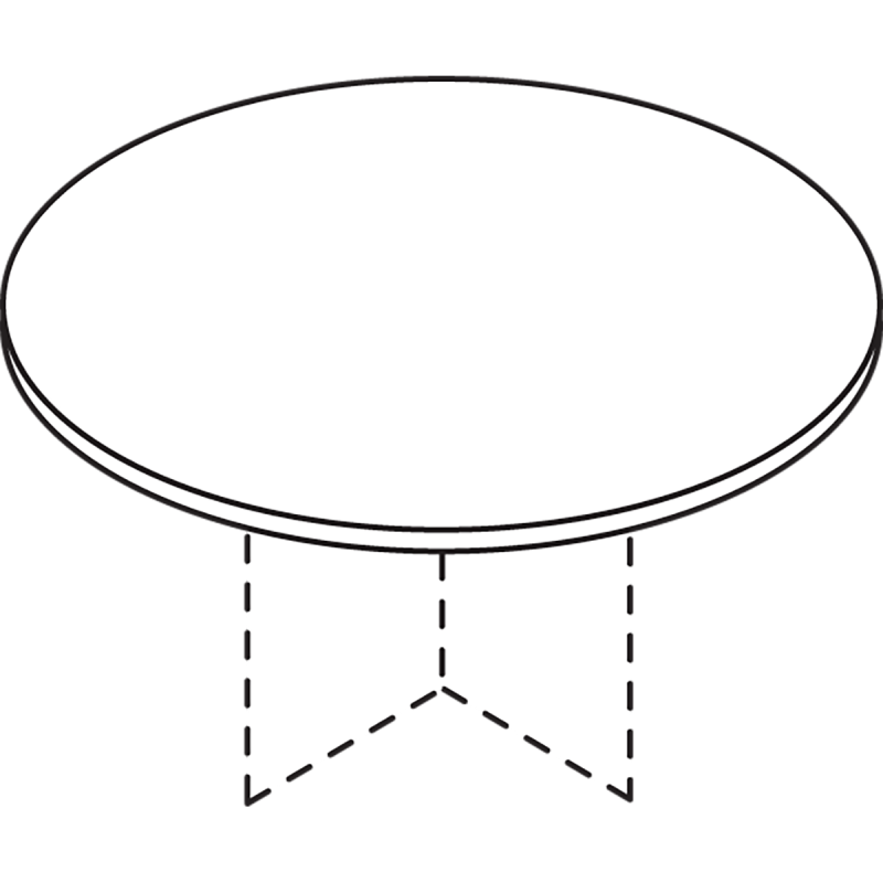 Conference Tables - Circular Tops