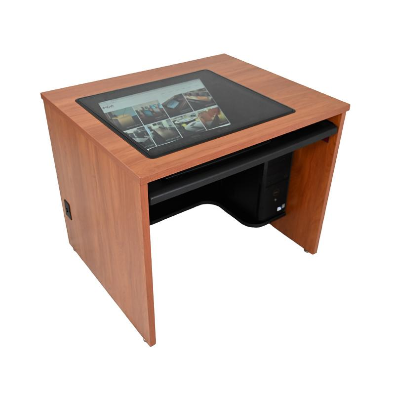 "Single Computer Desk with 21"" x 24"" Downview™"