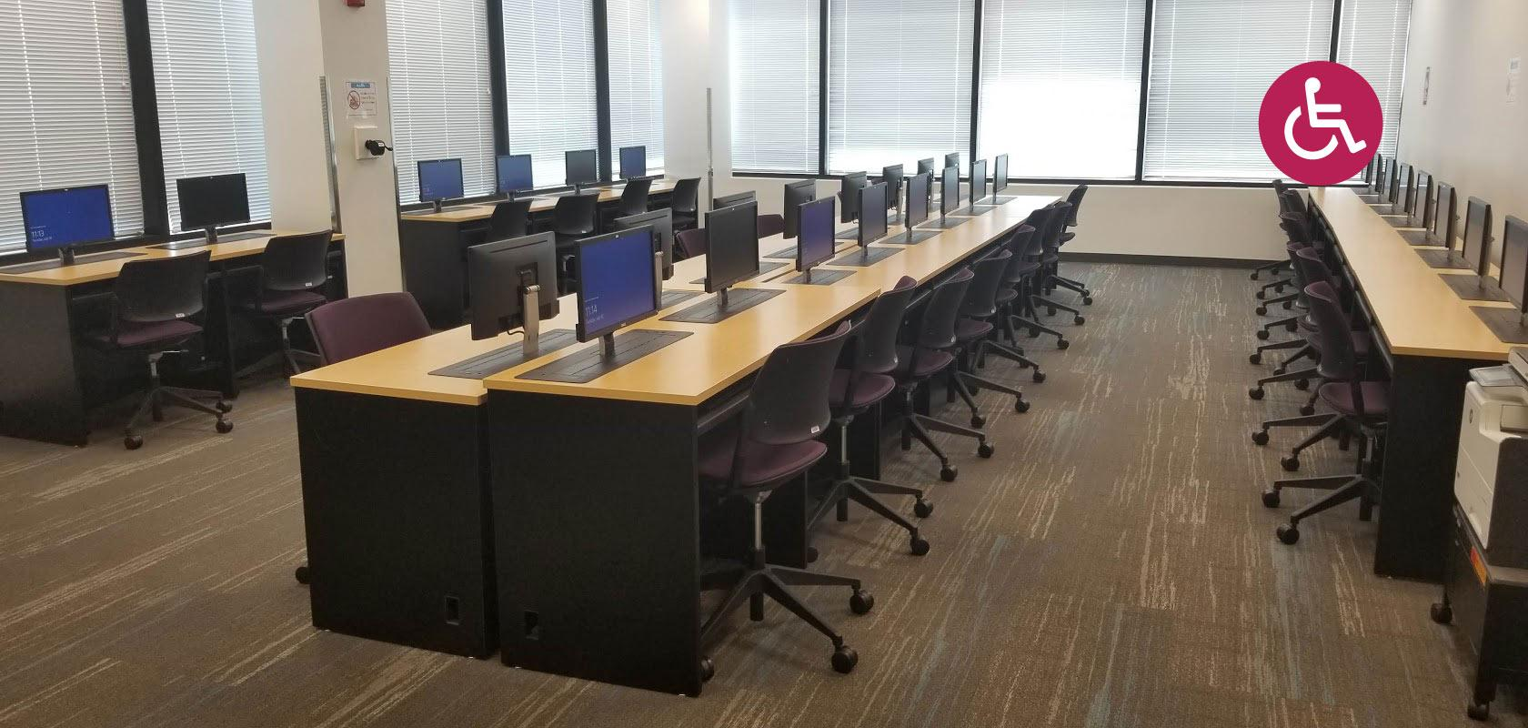 ADA compliant lecterns and computer desks