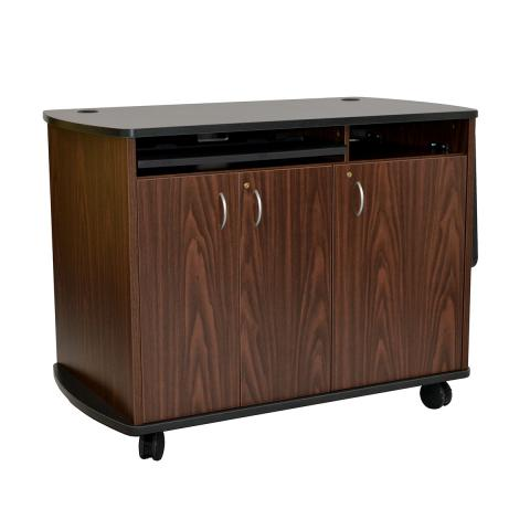 Curved Top Standing Height Lectern