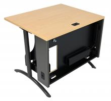 Computer Table with iMod™ Modesty Panel removed