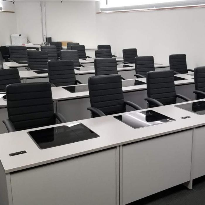 Computer Desks at American Airlines