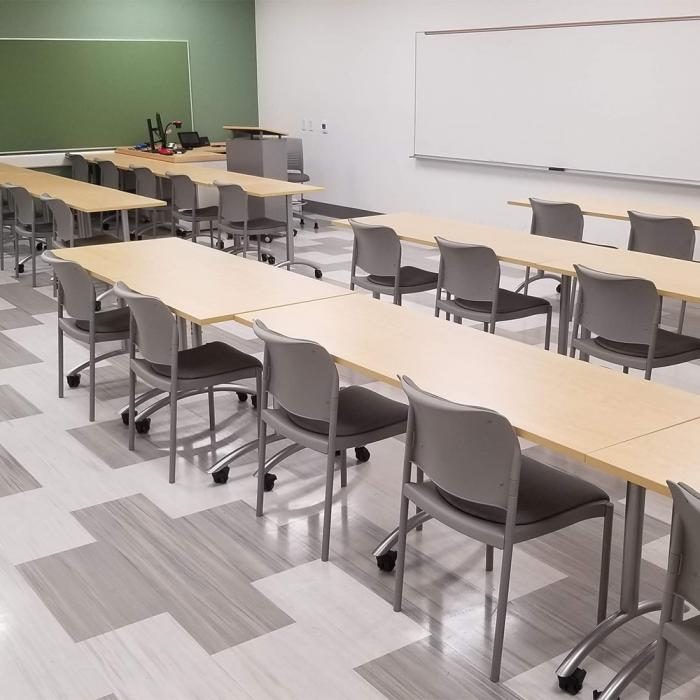 Multipurpose Tables at Long Beach City College by Nova Solutions