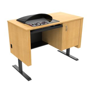 Sit-Stand Lectern with Downview™